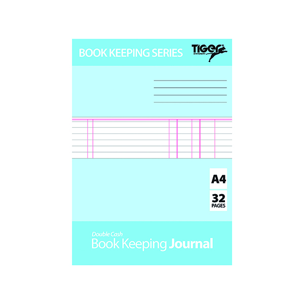 Image for Book Keeping Journal (Pack of 6) 302301