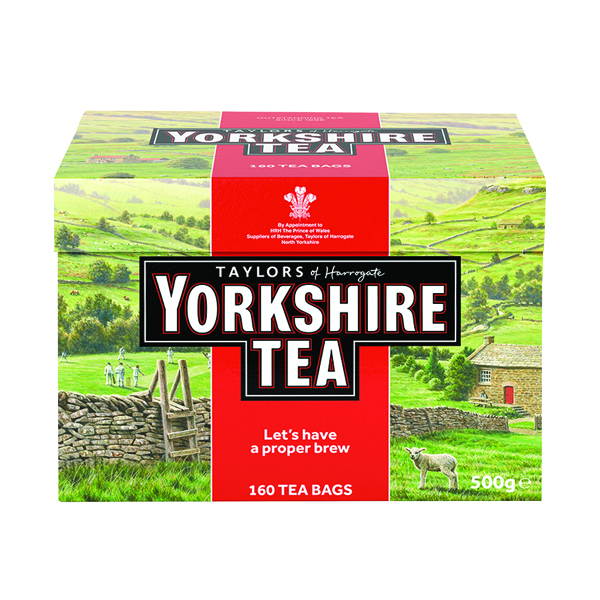 Yorkshire Tea Bags (Pack of 160) 1029