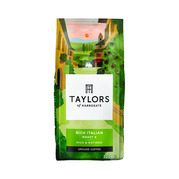 Taylors Rich Italian Ground Coffee 227g 3676