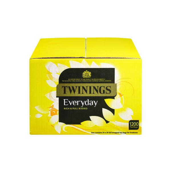 Twinings Everyday Tea Bag (Pack of 1200 Bags) PkF13681