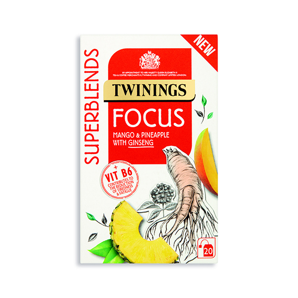 Twinings SuperBlends Focus HT (Pack of 20) F15170