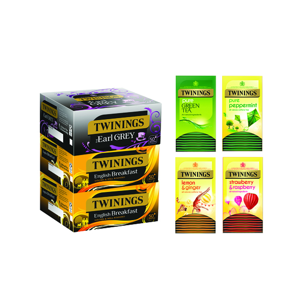 Twinings Favourites Variety Pack Pack of 230 F14907