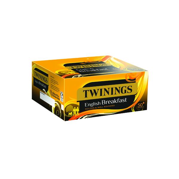 Twinings English Breakfast Envelope Tea Bags (Pack of 300) F09583