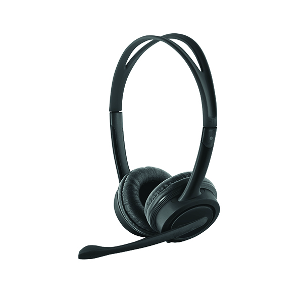 Trust Mauro USB Headset 2.5m Cable (Adjustable Headband and Soft Ear Cushions) 17591