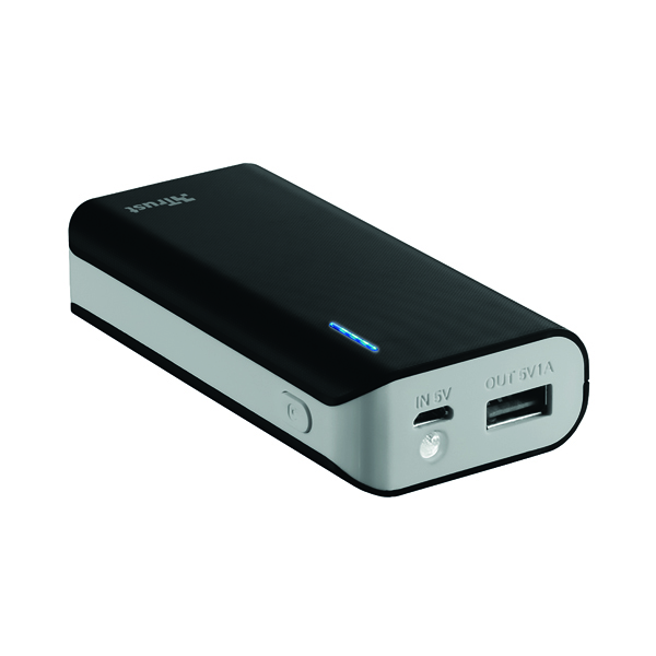 Primo Power Bank 4400 Portable Charger Black 21224