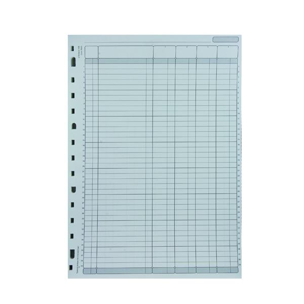 Rexel Variform V4 4-Column Cash Refill (Pack of 75) 75930