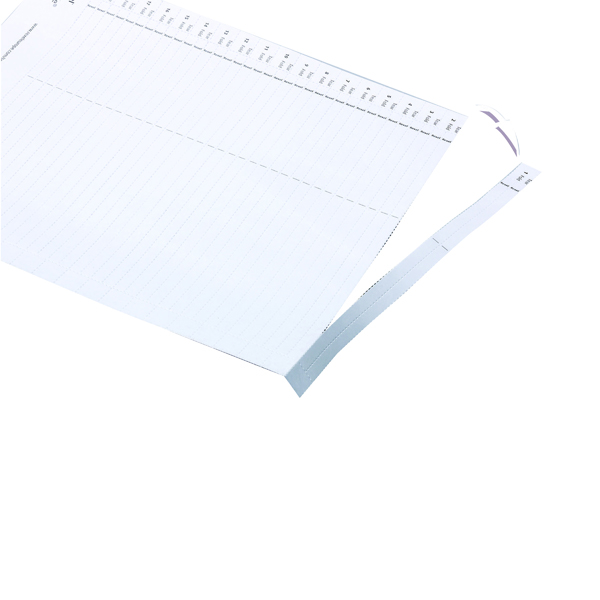 Rexel Crystalfile Lateral 275 Tab Inserts White (Pack of 50) 78370