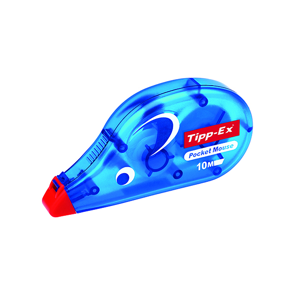 Tipp-Ex Pocket Mouse Correction Tape Blister (Pack of 10) 820790