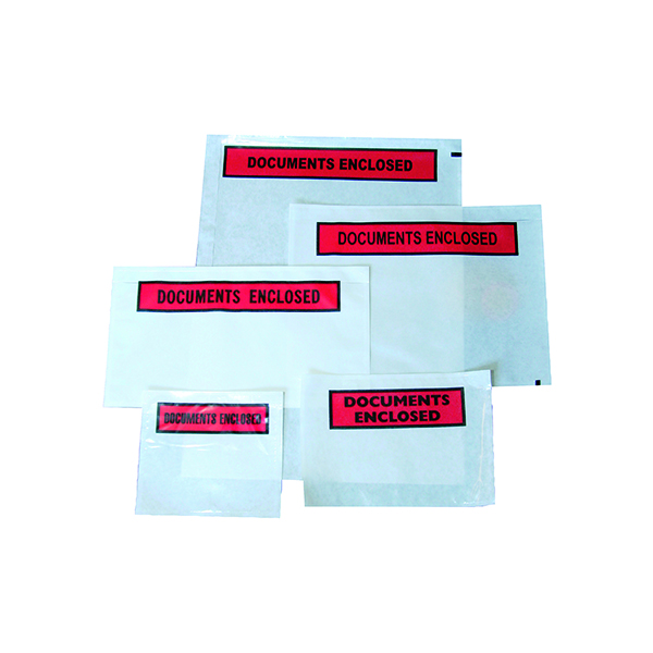GoSecure Document Envelopes Plain Self Adhesive A7 (Pack of 1000) 4301001