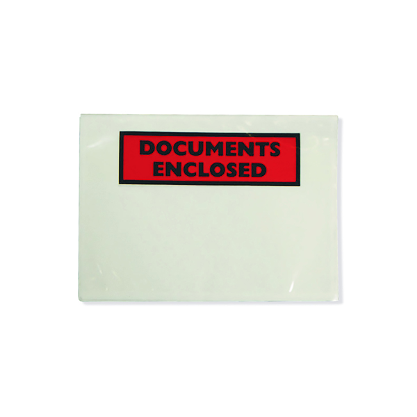GoSecure Document Envelopes Documents Enclosed Self Adhesive A6 (Pack of 1000) 4302002