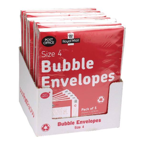 Postpak Size 4 Bubble Envelope (Pack of 40) 41632