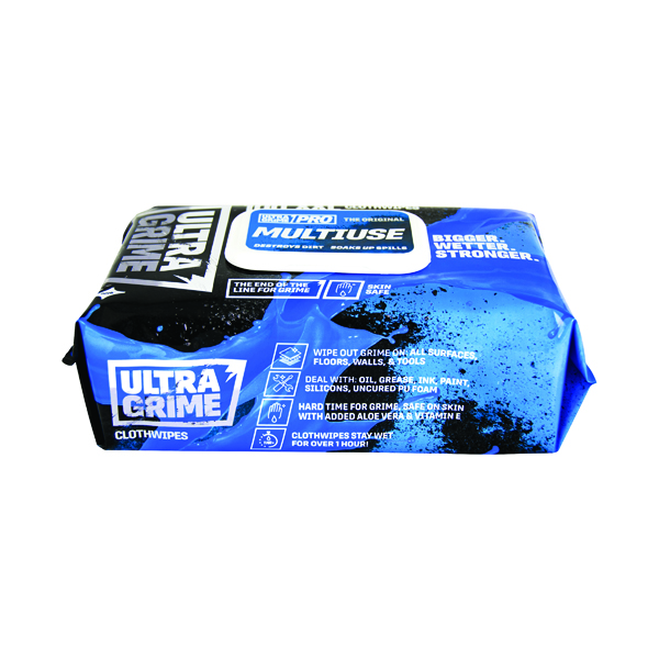 Uniwipe Ultra Grime Wipes (Pack of 100) 5900
