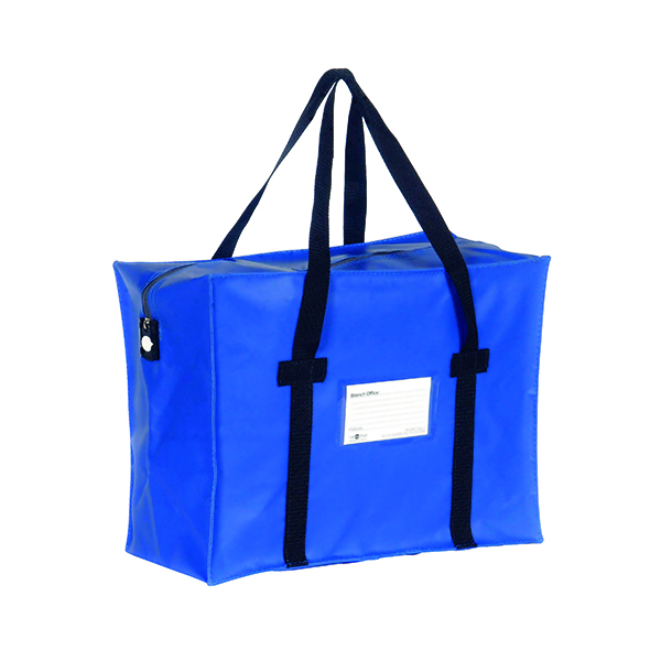 GoSecure Courier Holdall Blue (W508 x D152 x H356mm) H2B