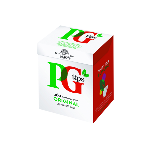 PG Tips Pyramid Tea Bags (Pack of 160) 67657242