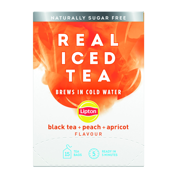 Lipton Cold Brew Black Tea Peach (Pack of 15) 67737978