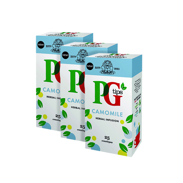 PG Tips Camomile Envelope (Pack of 25) 3For2