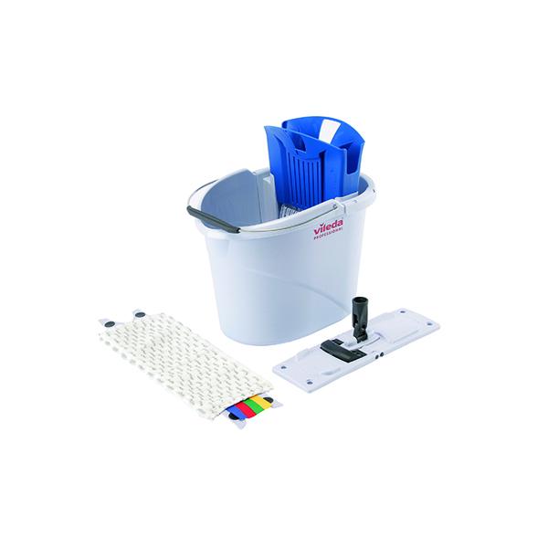 Vileda UltraSpeed Mini 10 Litre Starter Kit Blue 129672