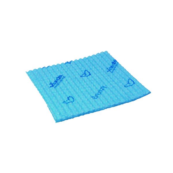 Vileda Breazy Microfibre Cloth Wave Blue (Pack of 25) 0707220