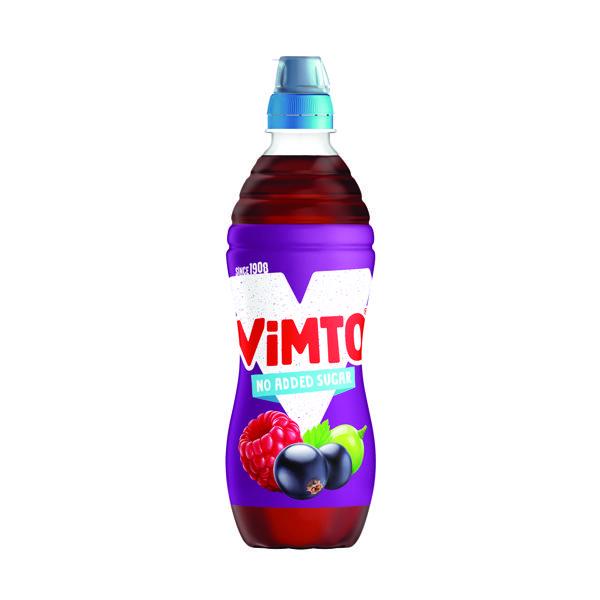 Vimto 500ml Still Juice No Added Sugar Sportscap (Pack of 12) 1176