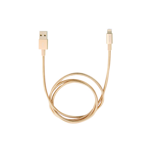 Verbatim Sync and Charge Lightning Cable 100cm Gold 48861