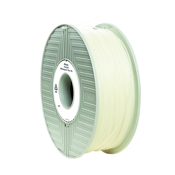 Verbatim 3D Printer Filament ABS 1.75mm 1kg Clear 55028