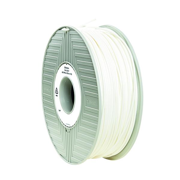 Verbatim 3D Printer Filament ABS 2.85mm 1kg White 55034