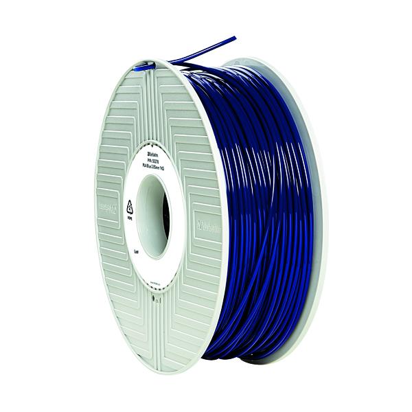 Verbatim 3D Printer Filament PLA 2.85mm 1kg Blue 55332