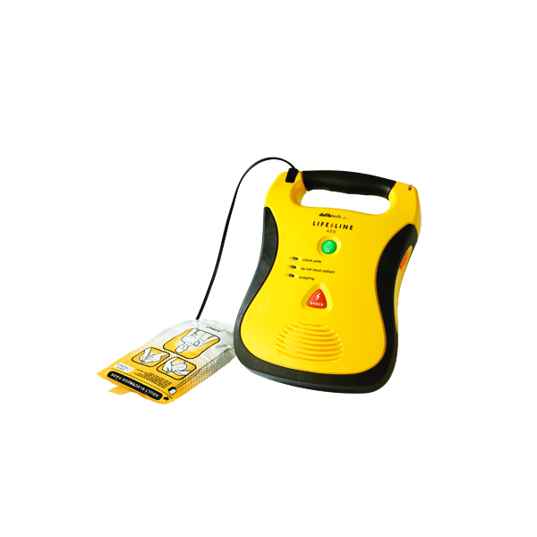 Wallace Cameron Lifeline Fully Automatic AED with Battery 5001166