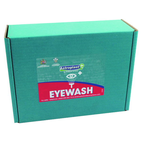 Wallace Cameron Sterile Eyewash Refill 500ml (Pack of 2) 2404039
