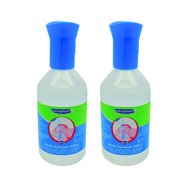 Wallace Cameron Sterile Eye Wash 500ml (Pack of 2) 2405093