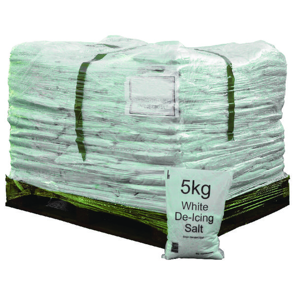 Image for Salt Bag 5kg Pallet of 200 Bags (5kg per bag, Complies to BS 3247) 314263