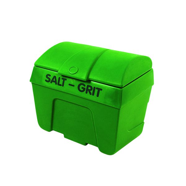 Green Winter Salt and Grit Bin 200 Litre No Hopper 317058