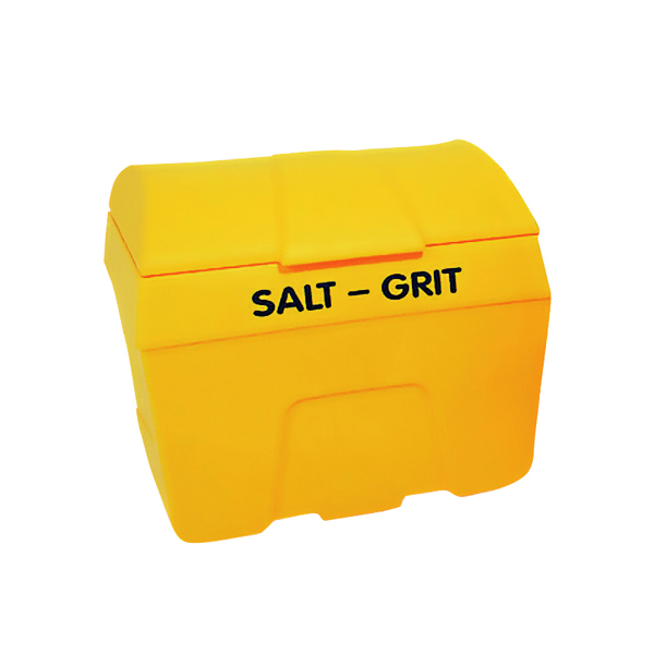 Winter Salt/Grit Bin No Hopper 400 Litre Yellow 317066