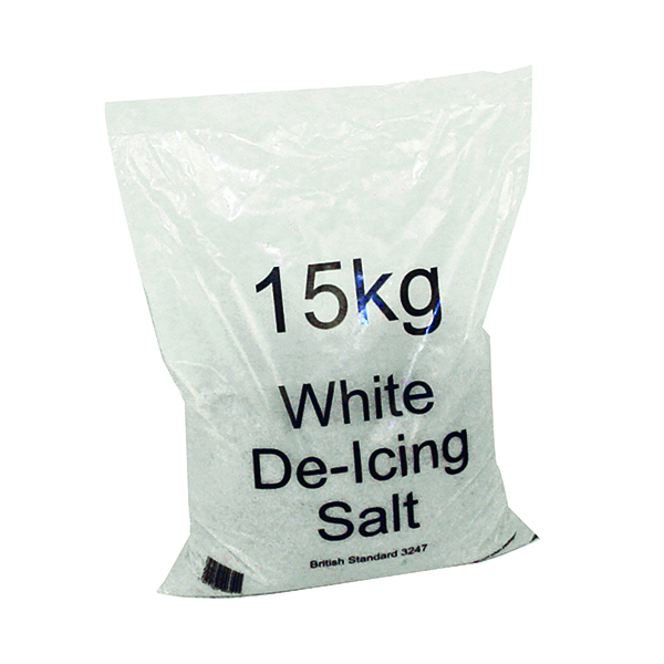 Image for White Winter 15kg Bag De-Icing Salt (Pack of 10) 383498