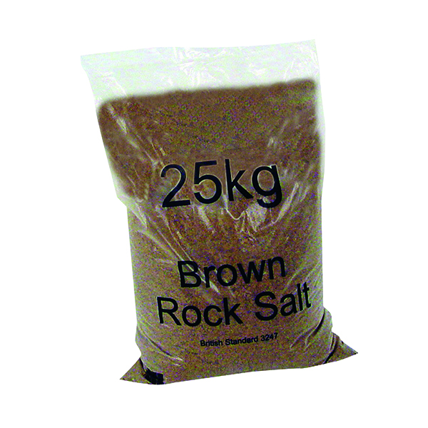 Winter Dry Brown Rock Salt 25kg 384071