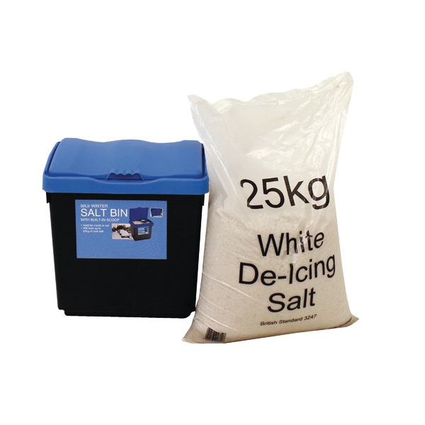 Image for 30 Litre Grit Bin and 25kg Salt Kit 389113