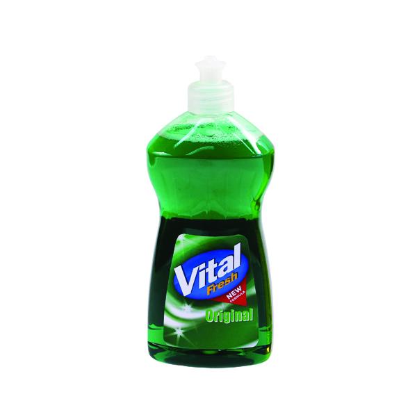 Vital Fresh Washing Up Liquid 500ml (Pack of 12)