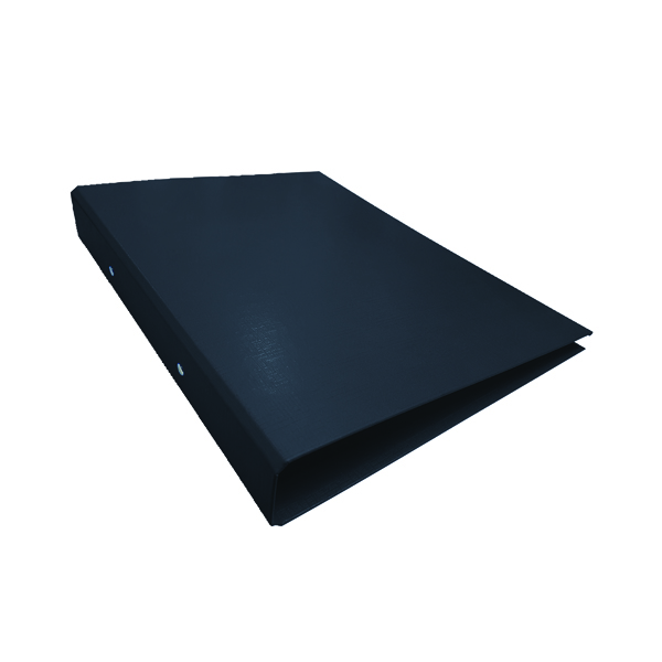 2-Ring Ring Binder A4 25mm Black (Pack of 10) WX02005
