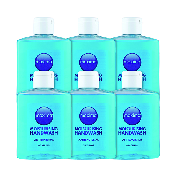 Antibacterial Soap 250ml (Pack Of 6) 0604002