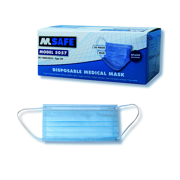 Disposable 3Ply Face Mask (Pack Of 50)
