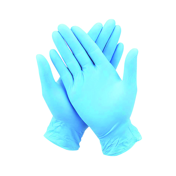 Nitrile Gloves Large (Pack of 100) WX07357