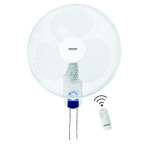 Image for Whitebox Remote Control 3 Speed Wall Fan 60 Watt 16 Inch WL16RT