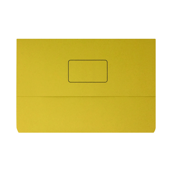 Yellow Document Wallet (Pack of 50) 45919EAST