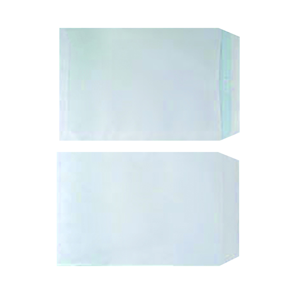 Plain White C4 Envelopes Self Seal 90gsm White (Pack of 250)