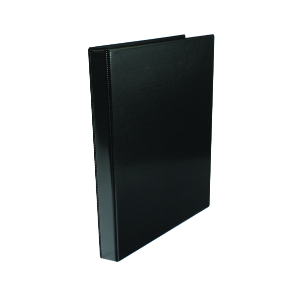 Image for Black 16mm 4O Presentation Ring Binder (Pack of 10) WX47602