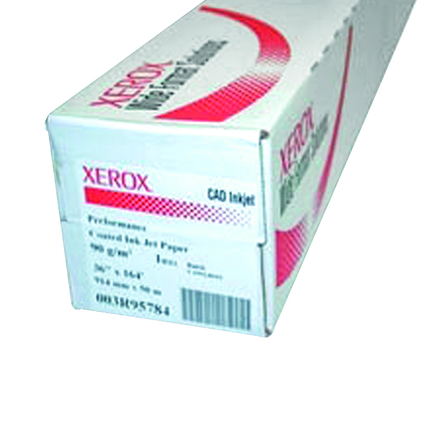 Xerox Performance Coated Inkjet Paper Roll 914mm White