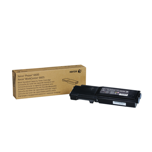 Xerox Phaser 6600 Black Toner Cartridge 106R02248
