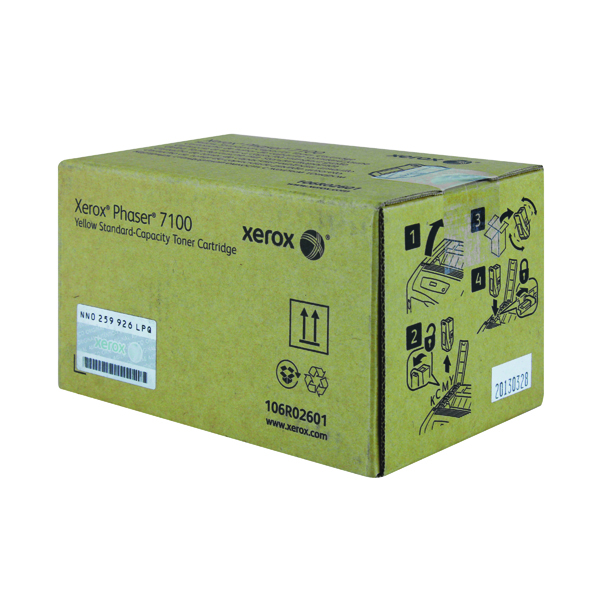 Xerox Phaser 7100 Yellow Laser Toner Cartridge 106R02601