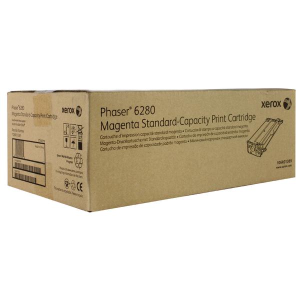 Xerox Phaser 6280 Magenta Toner Cartridge 106R01389