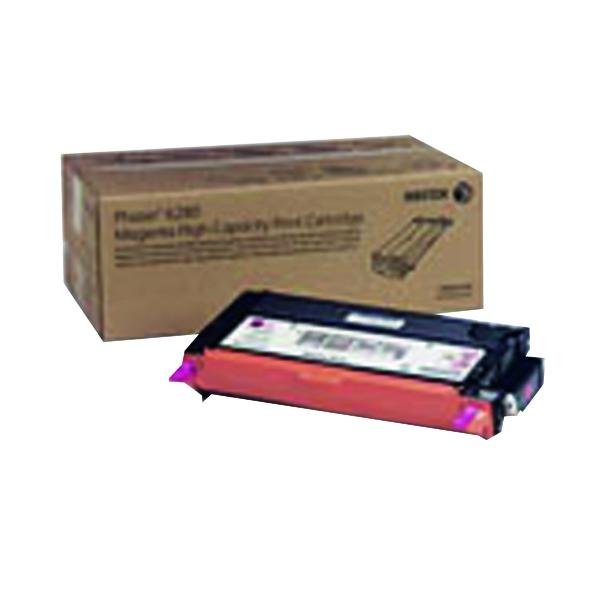 Xerox Phaser 6280 Magenta High Yield Toner Cartridge 106R01393
